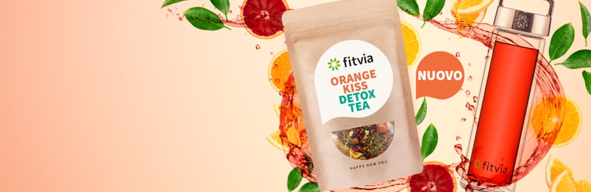 Orange Kiss Detox Tea